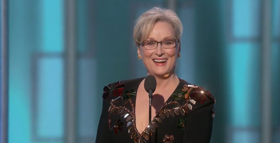 The Internet Won't Let Trump Get Away With Insulting Meryl Streep (via WIRED)